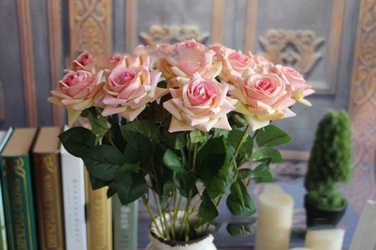 hoa hong nhung gia